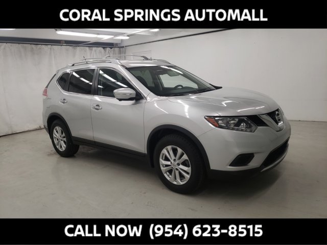 2014 Nissan Rogue FWD 4dr SV BRILLIANT SILVER Air Conditioning