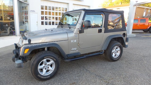 2004 Jeep Wrangler 2dr X TAN Intermittent Wipers