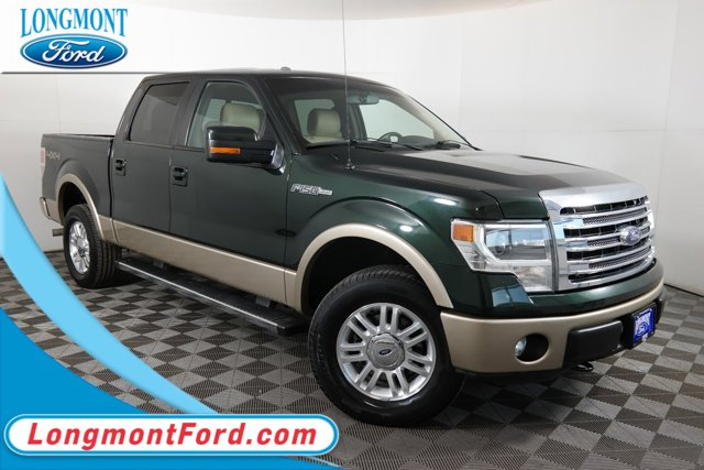 2014 Ford F-150 TRUCK GREEN Air Conditioning