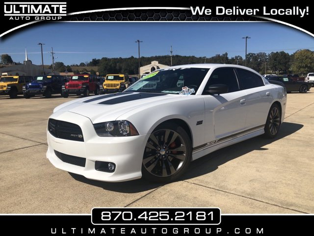 2014 Dodge Charger 4dr Sdn SRT8 Super Bee RWD BRIGHT WHITE