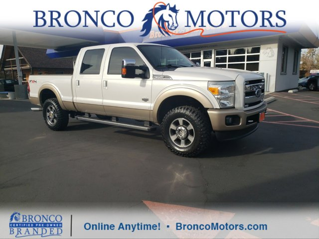 2011 Ford Super Duty F-350 SRW WHITE Bluetooth Connection