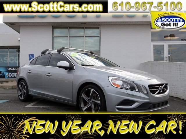 Certified 2013 Volvo S60 4dr Sdn T6 AWD ELECTRIC SILVER METALLI