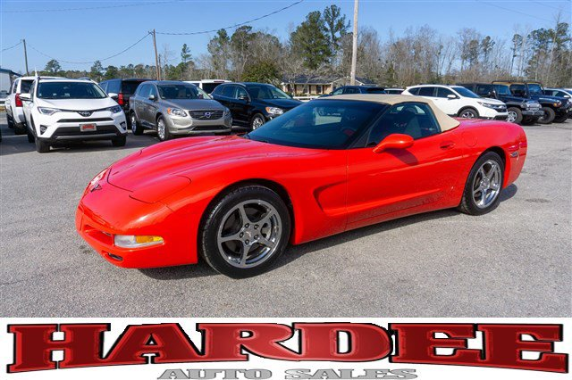 1999 Chevrolet Corvette 2dr Convertible TORCH RED