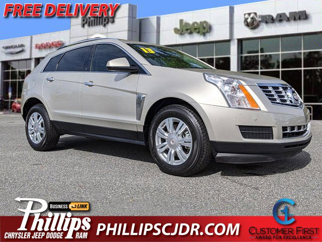 2013 Cadillac SRX FWD 4dr Luxury Collection Silver Coast