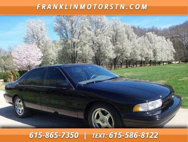 1996 Chevrolet Impala SS 4dr Sdn BLACK Driver Air Bag
