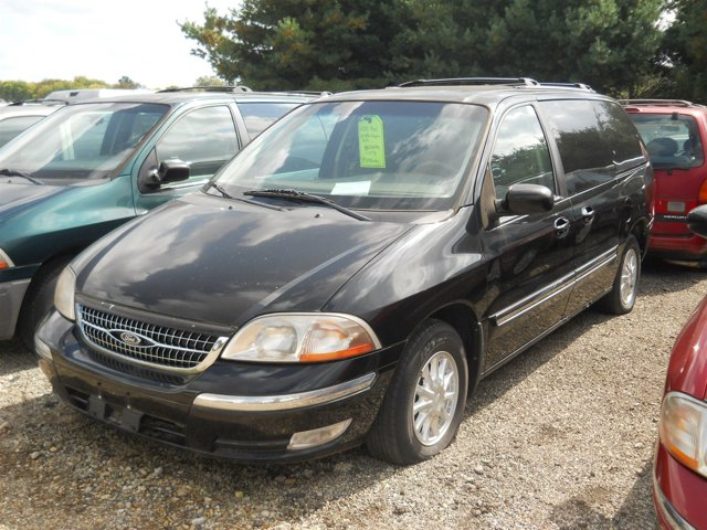 2000 Ford Windstar Wagon 4dr SEL BLACK CD Player Cassette