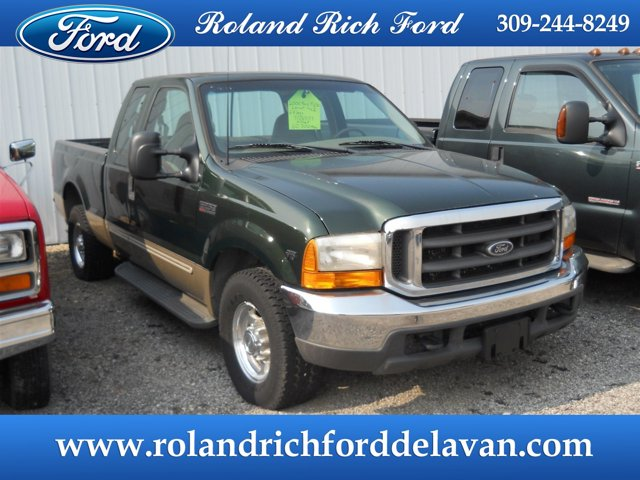 "2000 Ford Super Duty F-250 Supercab 142"" Lariat WOODLAND GREEN"