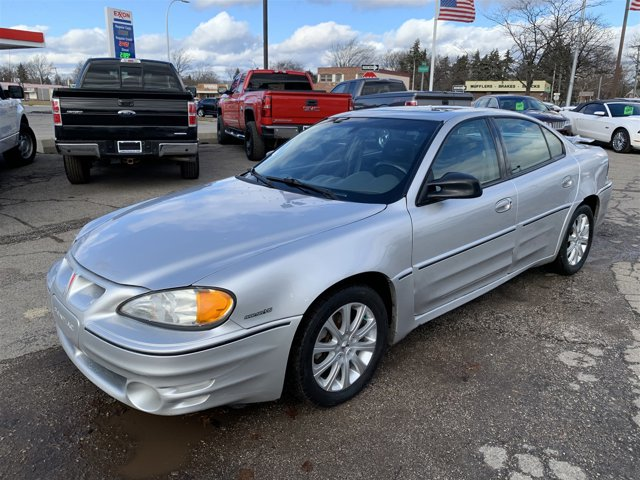 2002 Pontiac Grand Am 4dr Sdn GT1 GALAXY SILVER METALLIC