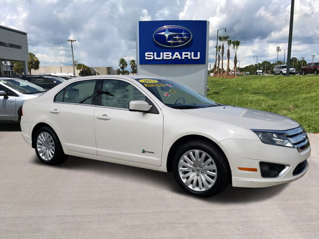 2012 Ford Fusion 4dr Sdn Hybrid FWD WHITE Bucket Seats