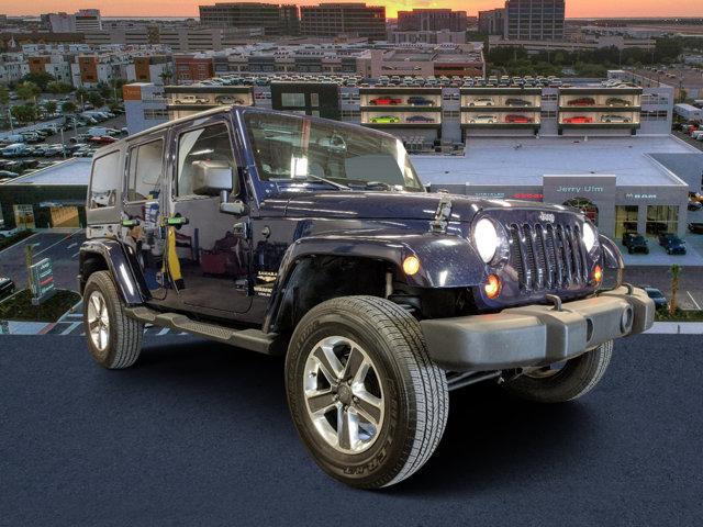 2013 Jeep Wrangler Unlimited 4WD 4dr Sahara True Blue Pearl