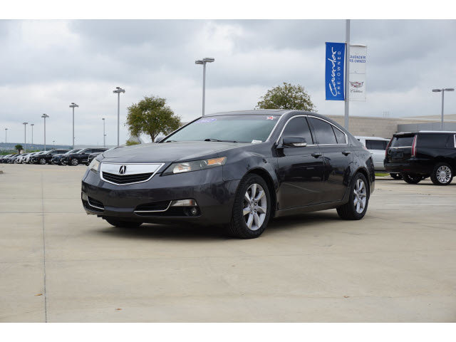 2012 Acura TL 4dr Sdn Auto 2WD Tech GRAY Bluetooth Connection