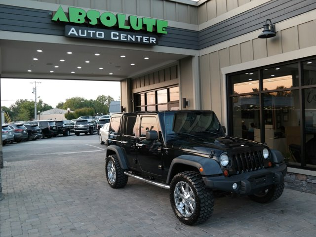 2013 Jeep Wrangler Unlimited 4WD 4dr Moab BLACK