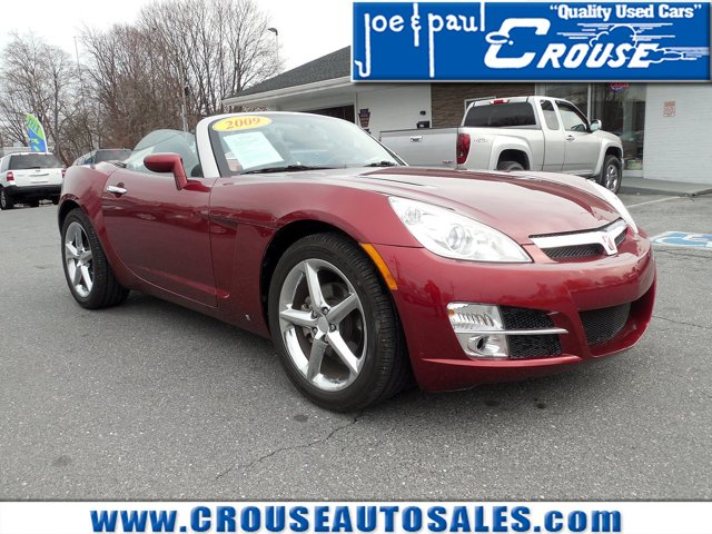 2009 Saturn Sky 2dr Conv MAROON BLACK (TOP)