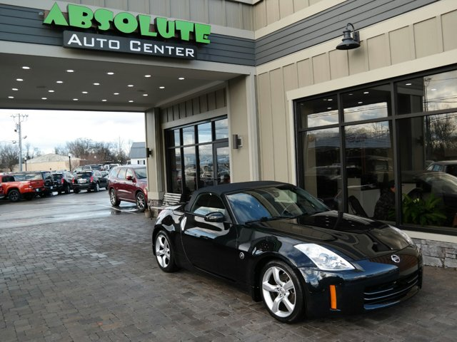 2008 Nissan 350Z 2dr Roadster Auto Touring MAGNETIC BLACK PEARL