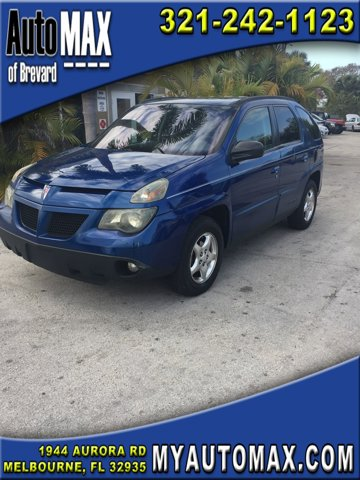 2005 Pontiac Aztek 4dr All Purpose FWD Fog Lamps Equalizer