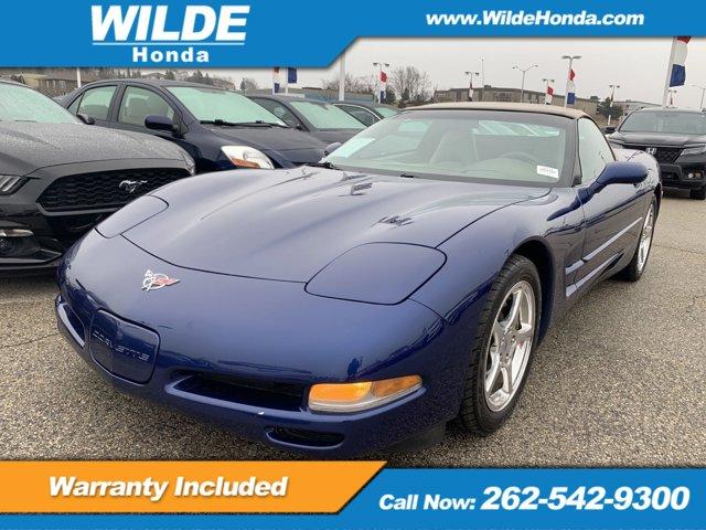 2004 Chevrolet Corvette 2dr Convertible LEMANS BLUE METALLIC