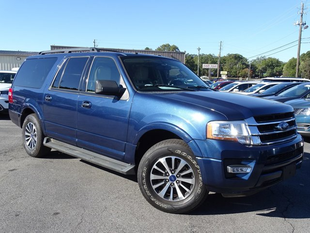 2017 Ford Expedition EL XLT 4x2 Blue Jeans