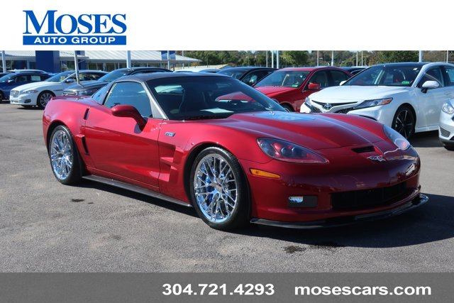 2010 Chevrolet Corvette 2dr Cpe ZR1 w/1ZR CRYSTAL RED METALLIC
