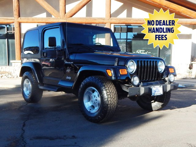 2002 Jeep Wrangler 2dr Sahara GREEN Engine Immobilizer