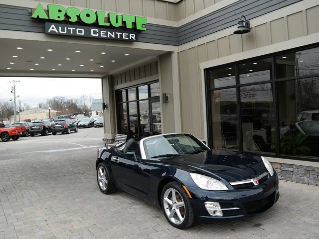 2007 Saturn Sky 2dr Conv MIDNIGHT BLUE Automatic Headlights