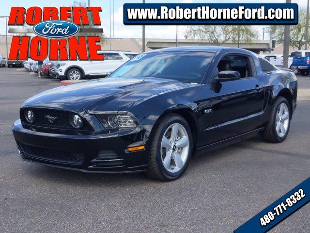 2014 Ford Mustang 2dr Cpe GT Premium BLACK Brake Assist