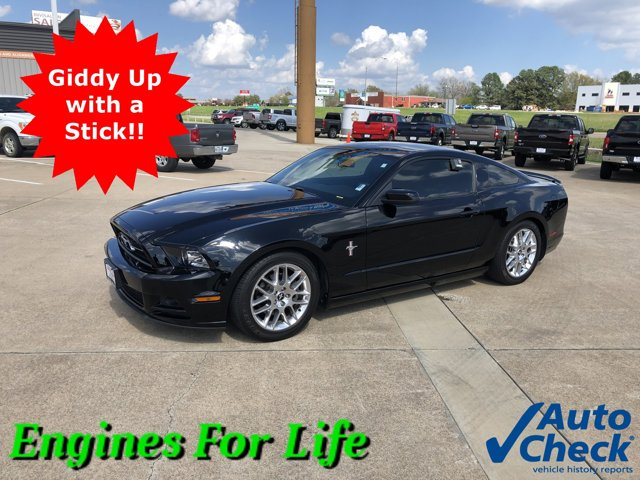 2014 Ford Mustang 2dr Cpe V6 BLACK Driver Air Bag Cruise Contro