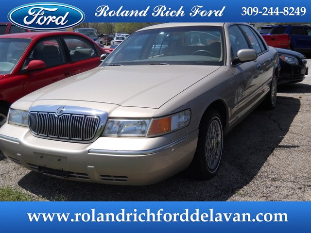 1998 Mercury Grand Marquis 4dr Sdn GS LIGHT PRAIRIE TAN (CC/MET