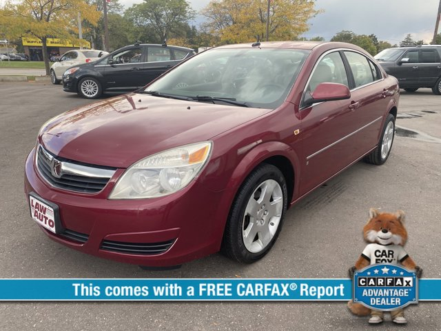 2007 Saturn Aura 4dr Sdn XE BERRY RED Auxiliary Audio Input