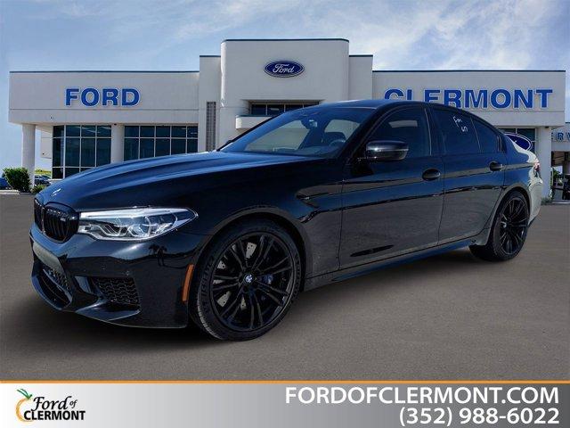 2019 BMW M5 SEDAN BLACK SAPPHIRE METALLIC