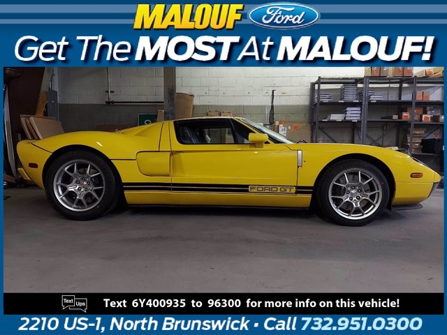 2006 Ford GT 2dr Cpe SPEED YELLOW Floor Mats Driver Air Bag