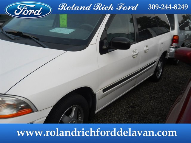 2000 Ford Windstar Wagon 4dr SEL VIBRANT WHITE