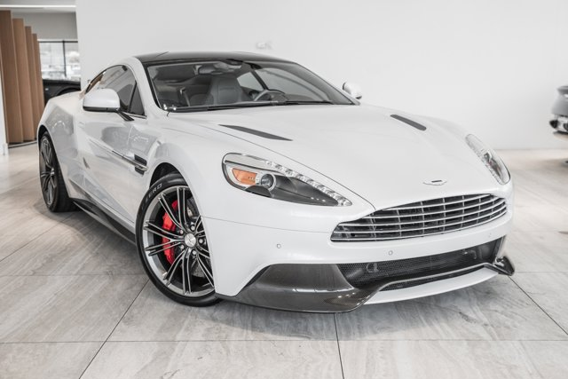 Certified 2014 Aston Martin Vanquish 2dr Cpe Morning Frost Whit