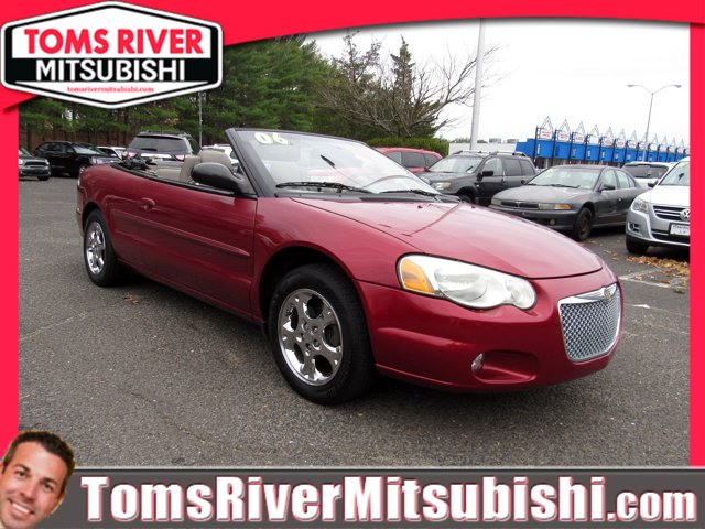 2006 Chrysler Sebring Conv 2dr Touring INFERNO RED CRYSTAL PEAR