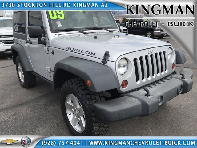 2009 Jeep Wrangler 4WD 2dr Rubicon BRIGHT SILVER METALLIC
