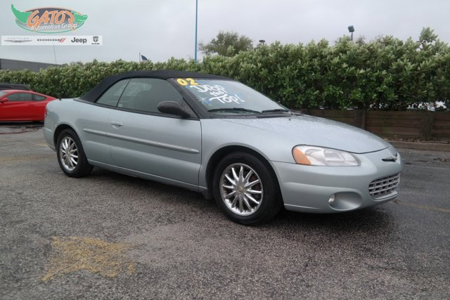 2002 Chrysler Sebring 2dr Convertible Limited STERLING BLUE