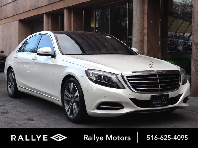 2015 Mercedes-Benz S-Class 4dr Sdn S550 4MATIC WHITE