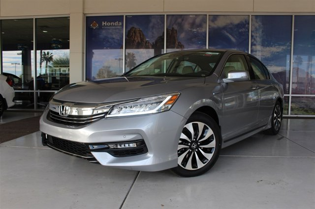 2017 Honda Accord Hybrid TOURING SEDAN LUNAR SILVER ME