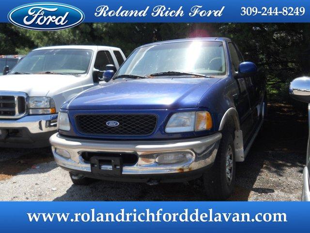 "1997 Ford F-250 Reg Cab 139"" 4WD XLT Portofino Blue (cc/met)"