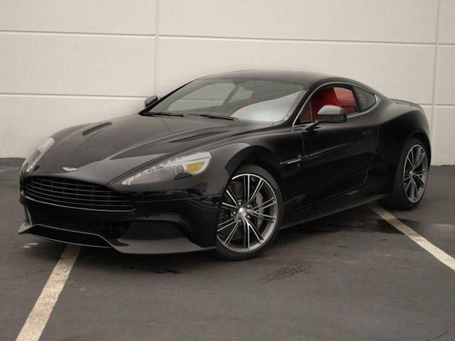 2014 Aston Martin Vanquish 2dr Cpe ONYX BLACK