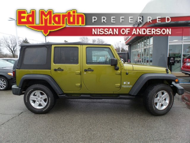 2007 Jeep Wrangler 4WD 4dr Unlimited X JEEP GREEN
