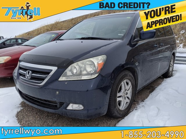 2005 Honda Odyssey EX-L AT with RES BLUE CD Changer Bucket Seat