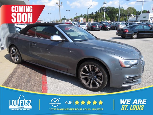 2013 Audi S5 2dr Cabriolet Prestige Monsoon Gray Metallic