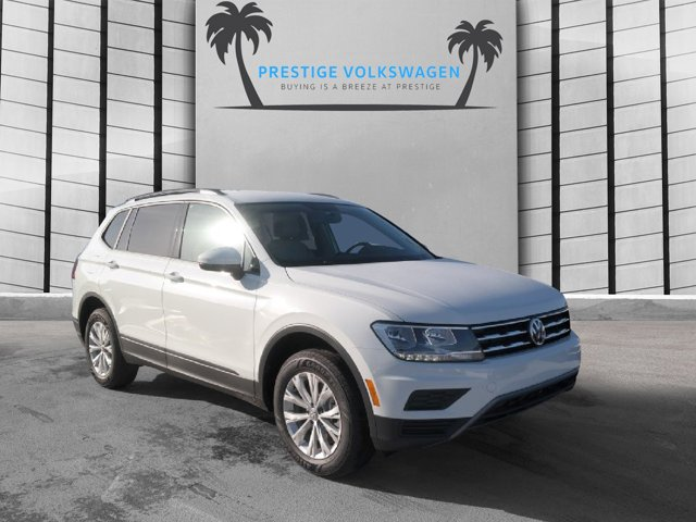2020 Volkswagen Tiguan 2.0T S FWD PURE WHITE Blind Spot Monitor