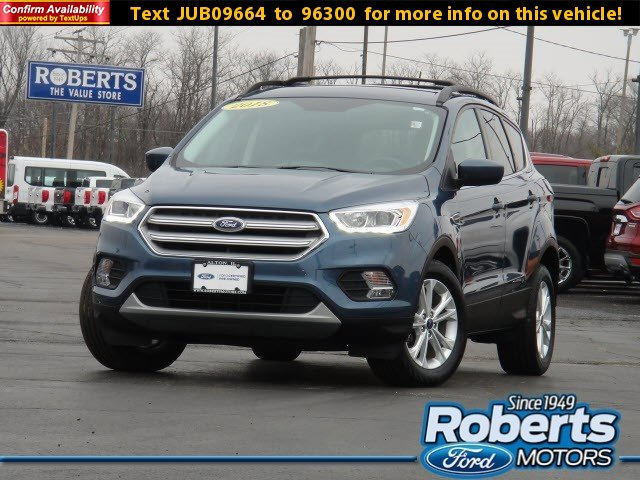 Certified 2018 Ford Escape SEL FWD BLUE METALLIC