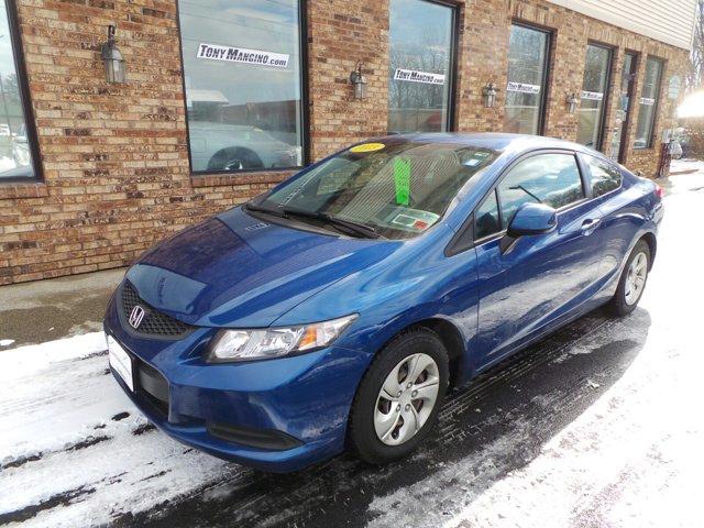 2013 Honda Civic Cpe 2dr Auto LX BLUE CD Player Bucket Seats