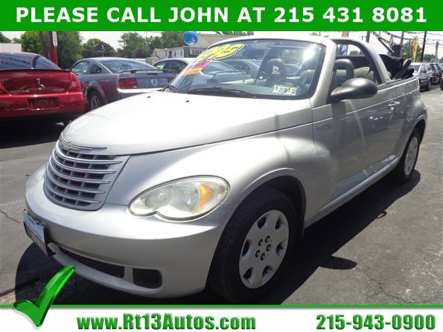 2006 Chrysler PT Cruiser 2dr Convertible BRIGHT SILVER METALLIC