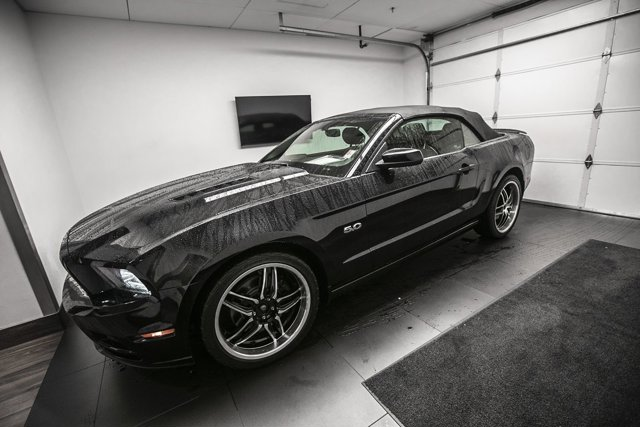 2013 Ford Mustang 2dr Conv GT BLACK Convertible Soft Top