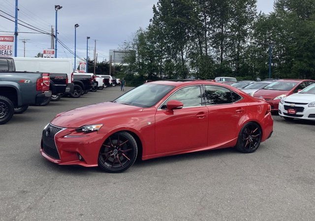 2016 Lexus IS 350 4dr Sdn RWD Brake Assist Bluetooth Connection