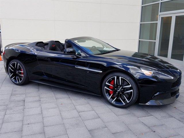 2016 Aston Martin Vanquish 2dr Volante Carbon CARBON BLACK
