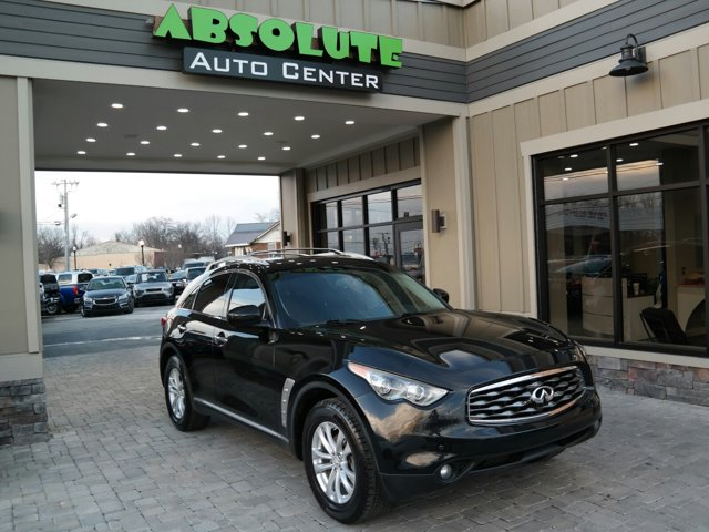 2011 Infiniti FX35 RWD 4dr MALBEC BLACK Brake Assist